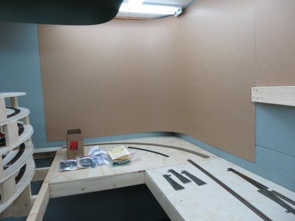 lower corner hardboard